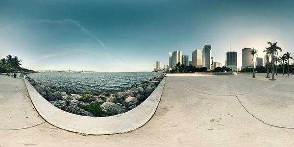 panorama sferyczna miasta
