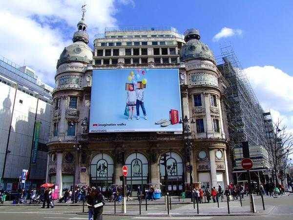 reklamy wielkoformatowe w Warszawie